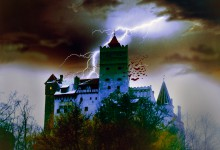 Eurocard, Castle of Dracula, Bran, Romania